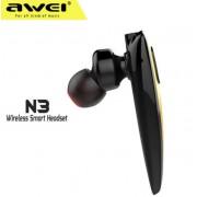 Беспроводная bluetooth гарнитура AWEI N3 (черный)