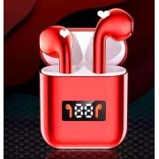 Беспроводные Bluetooth наушники A88 TWS (красный)
