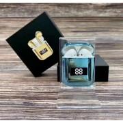 Беспроводные Bluetooth наушники A88 TWS (голубой)