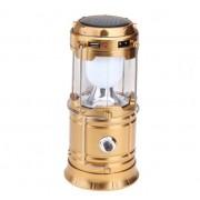 Фонарь кемпинговый портативный HL-5700T (золотистый)