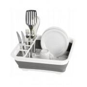 Сушилка для посуды KP-403 (серый)