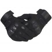 Тактические перчатки с кевларом (черный)