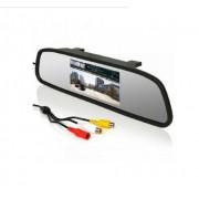 Камера заднего вида и монитор в зеркале 4.3-HY (черный)