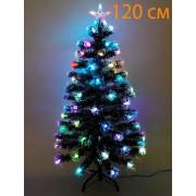 Искусственная елка с подсветкой 120 см (зеленый)
