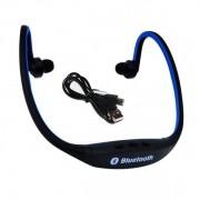 Спортивные беспроводные наушники SportBeats BS19C (Черный с синим)