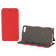 Чехол-книжка для Xiaomi Mi 5 с магнитами, с визитницей и подставкой (Красный)