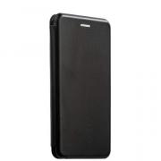 Чехол-книжка для Xiaomi Mi 6 с магнитами, с визитницей и подставкой (Черный)