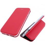 Чехол-книжка для Nokia 3 с магнитами, с визитницей и подставкой (Красный)