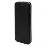 Чехол-книжка для Nokia 7 с магнитами, с визитницей и подставкой (Черный)