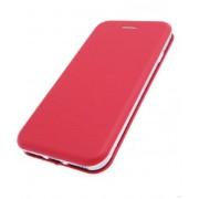 Чехол-книжка для Nokia 7 с магнитами, с визитницей и подставкой (Красный)