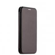 Чехол-книжка для Samsung A7 2017 с магнитами, с визитницей и подставкой (Черный)