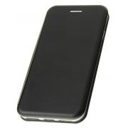Чехол-книжка для Xiaomi Mi 5S plus с магнитами, с визитницей и подставкой (Черный)