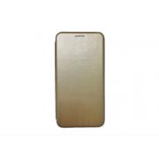 Чехол-книжка для OnePlus 3 с магнитами, с визитницей и подставкой (Золотой)