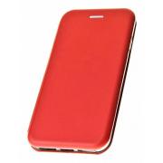 Чехол-книжка для Meizu PRO 6 с магнитами, с визитницей и подставкой (Красный)
