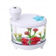 Увлажнитель воздуха Fish Tank Light Humidifier (белый)