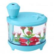 Увлажнитель воздуха Fish Tank Light Humidifier (голубой)