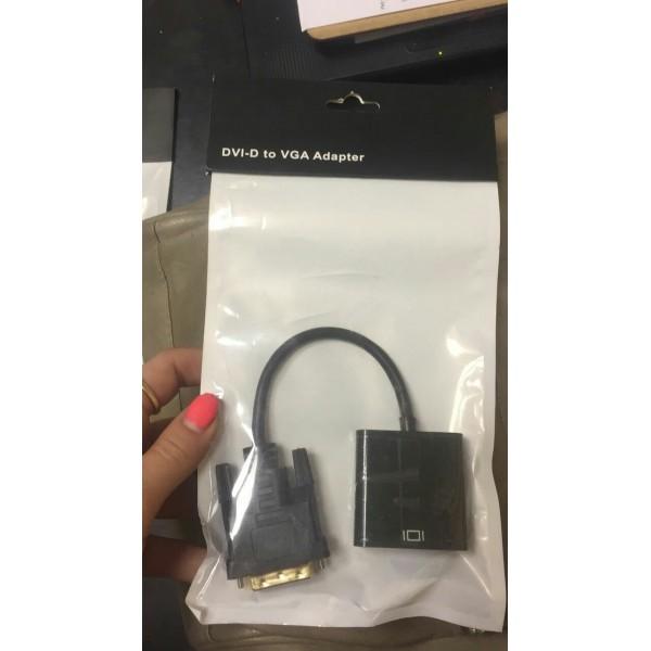 Кабель-переходник DVI-D TO VGA