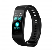 Умный смарт-браслет Goral Y5 Smart Bracelet Unleash Your Run (черный)