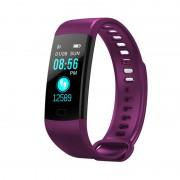 Умный смарт-браслет Goral Y5 Smart Bracelet Unleash Your Run (фиолетовый)