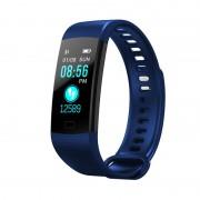 Умный смарт-браслет Goral Y5 Smart Bracelet Unleash Your Run (синий)