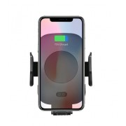 Автомобильный держатель C9 на смартфон с беспроводной зарядкой Qi