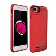 Чехол зарядка с аккумулятором Power Case для смартфона Apple iPhone 5, 5S (красный)