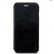 Чехол-книжка с аккумулятором 5000 mAh для подзарядки iPhone 6/6S Plus (черный)