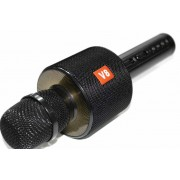 Караоке-микрофон Super Voice Wireless Microphone V8 Black (Черный)
