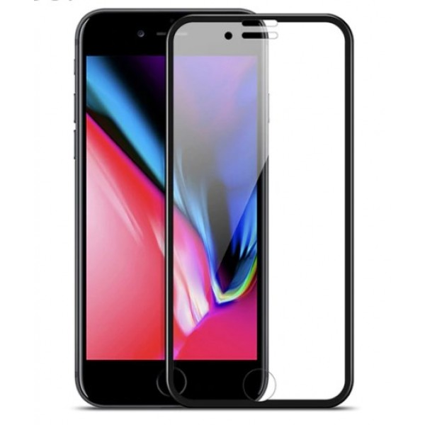Защитное стекло 3D 5D-20D полноэкранное Premium для Apple iPhone XS MAX iPhone 11 PRO MAX 6,5 дюймов (Черный)