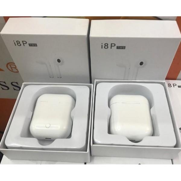 Беспроводные наушники i8S TWS bluetooth (белый)