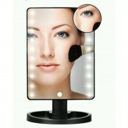 Косметическое зеркало с подсветкой Large Led Mirror (черный)