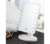 Косметическое зеркало с подсветкой Large Led Mirror (белый)
