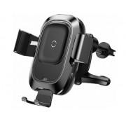 Автодержатель для смартфонов Baseus Smart Vehicle Bracket Wireless Charger WXZN-01 (Черный)