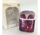 Беспроводные TWS Bluetooth наушники HBQ i7S Cosmos Purple (Сиреневый)