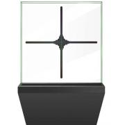 Голографический 3D LED экран голограмма проектор вентилятор AD с Wi-Fi