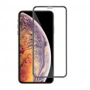 Защитное стекло 3D 5D-20D полноэкранное Premium для iPhone XR iPhone 11 6,1 дюйма полное покрытие (Черный)