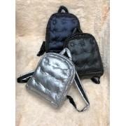 Нейлоновый рюкзак (серебристый)