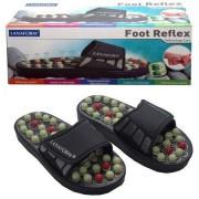 Тапочки рефлекторные Foot Reflex TV-022 (черный)