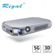 Проектор mini LED Projector DLP SMART RD-603 С АКБ (Серебристый)