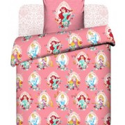 Комплект детского постельного белья Василиса бязь 7735 Сказка дисней 1,5 сп (розовый)