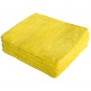 Полотенце махровое Мона Лиза 70х140см (желтый)