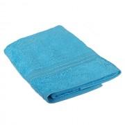 Полотенце махровое Мона Лиза 70х140см (голубой)