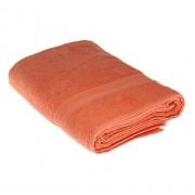 Полотенце махровое Мона Лиза 70х140см (терракотовый)