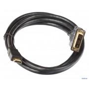 Кабель HDMI to DVI-D 1.8 метра (черный)