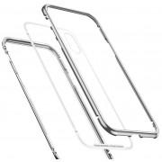Чехол Baseus Magnetite Hardware Case для iPhone Xs Max WIAPIPH65-CS0S (серебристый)