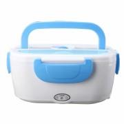 Ланч бокс с подогревом от сети контейнер для еды Car Electric Lunch Box (Голубой)
