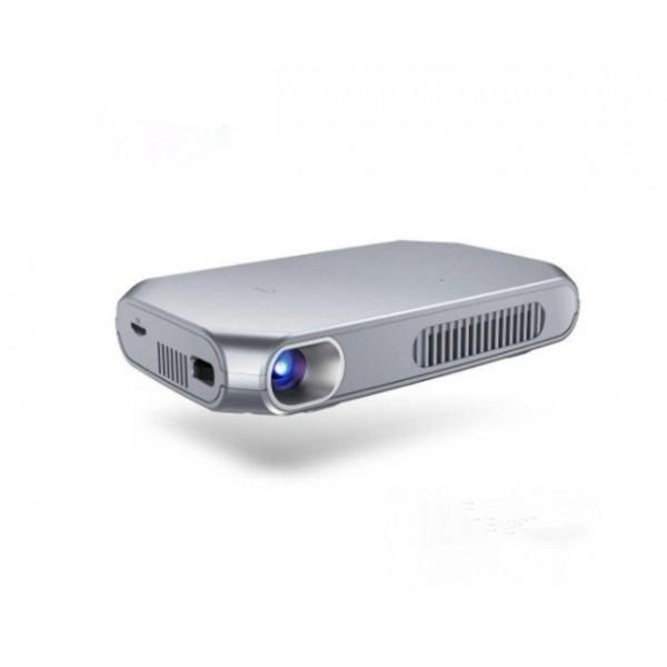 Проектор LED mini DLP smart Rigal RD-603 с АКБ (серый)