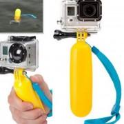 Ручка-поплавок для Go Pro (желтый)