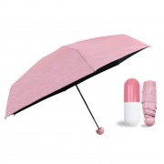 Зонт в капсуле (розовый)