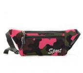 Спортивная сумка на пояс Хаки (розовый)